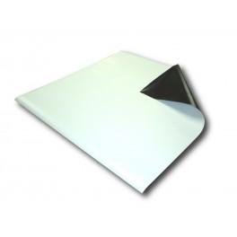 Feuille magnétique blanc imprimable