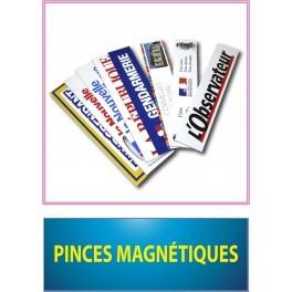 pinces magnétiques 400x75 mm